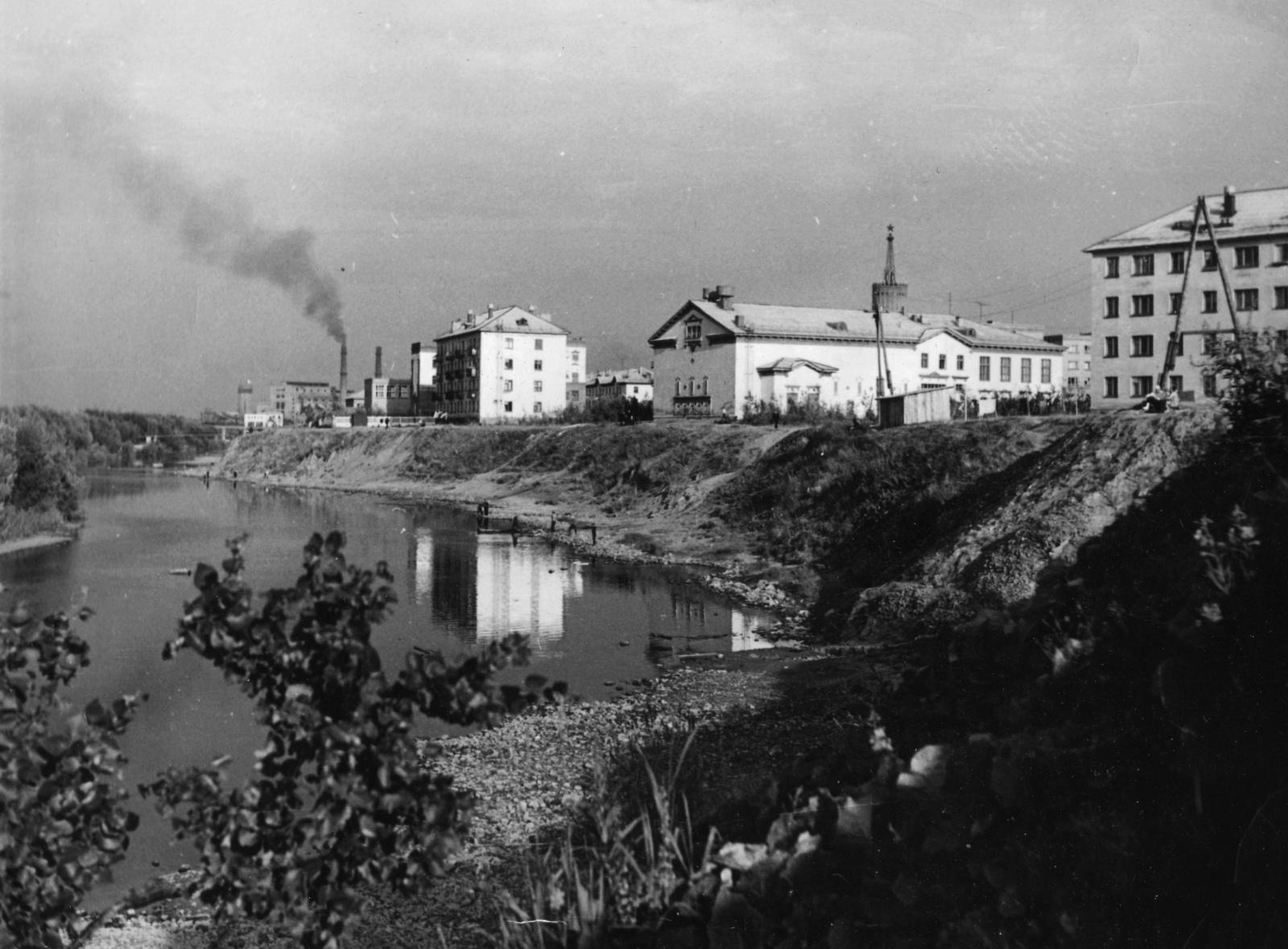 Старые фотографии города Инта