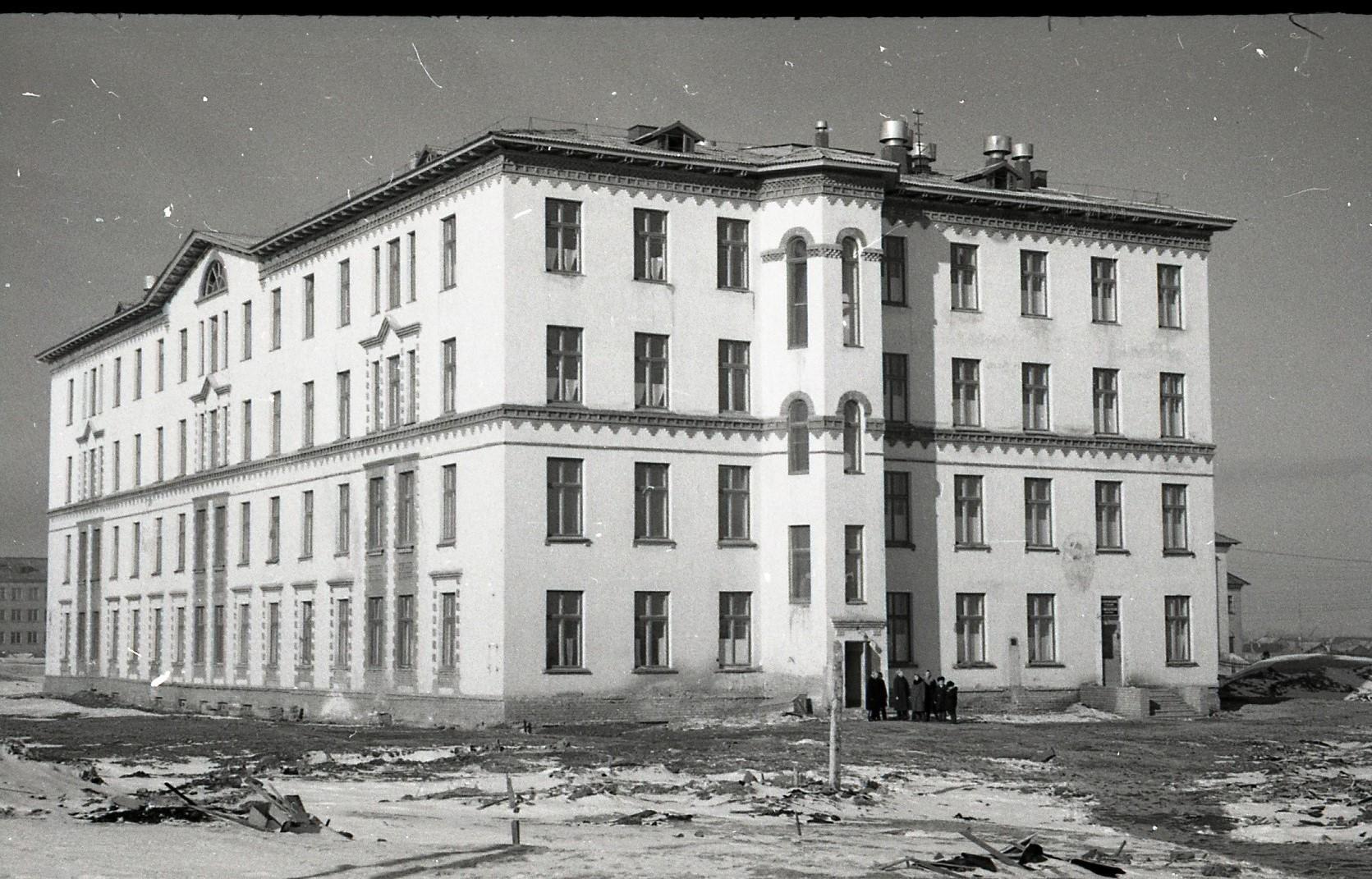 Инта. Архивные фотографии
