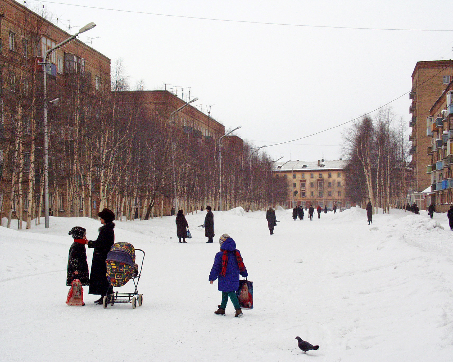 Бродвей зимой