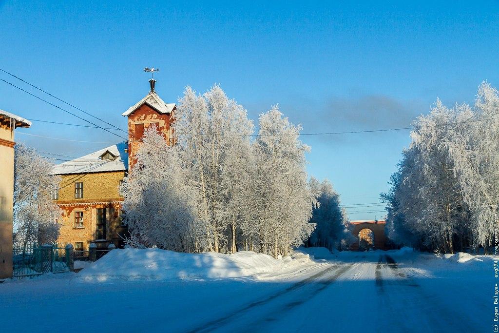Зимняя Инта
