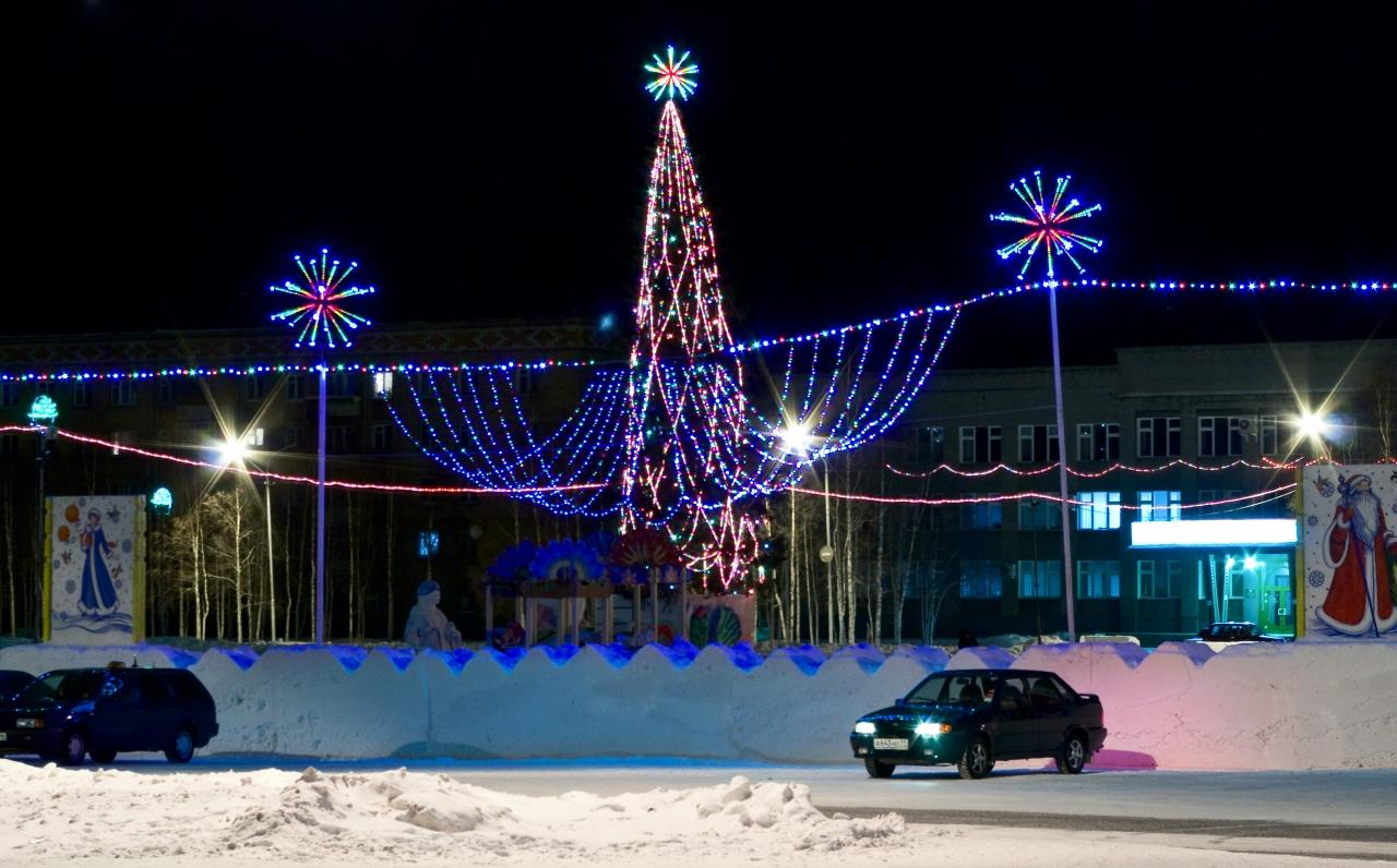 Зимний Городок в Инте
