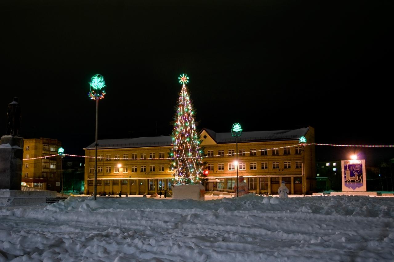 Новогодняя Елка в Инте