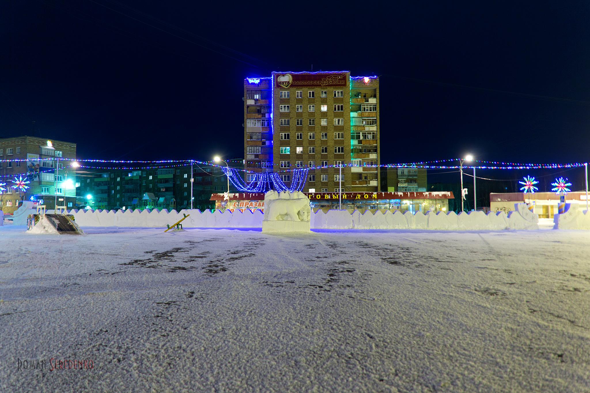 Новогодняя Новая площадь