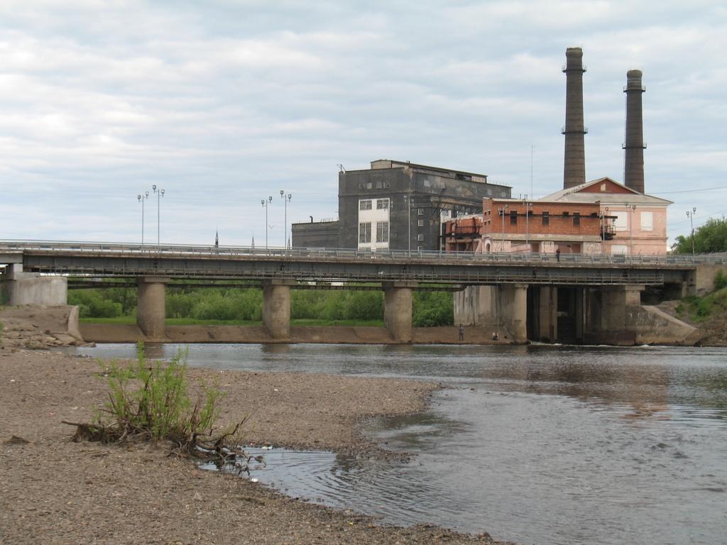 Мост и ТЭЦ
